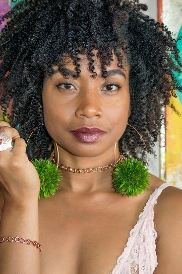 Mother Nature Collection: Teardrop Bush Hoops