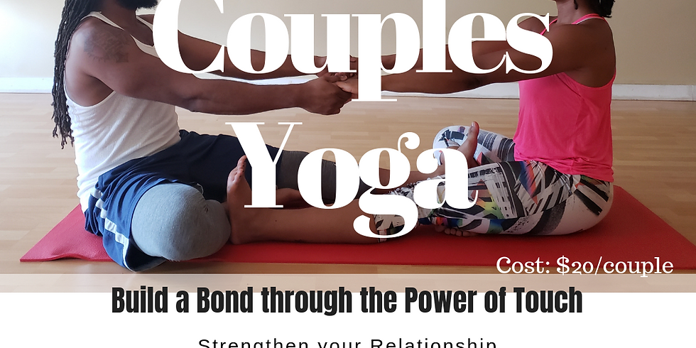 Sweetest Day Couple Yoga at 7:30pm