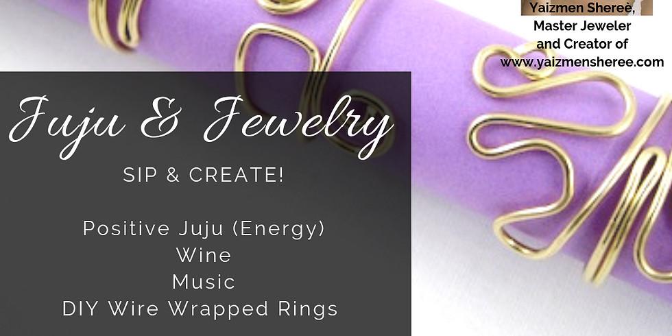 Juju & Jewelry: Wire Wrapped Rings