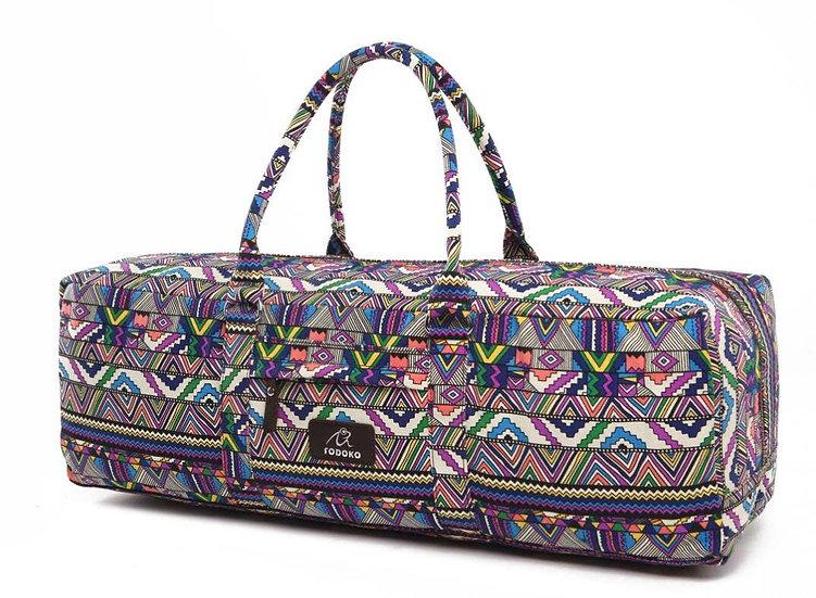 Multi-Colored Aztec Yoga Mat Bag