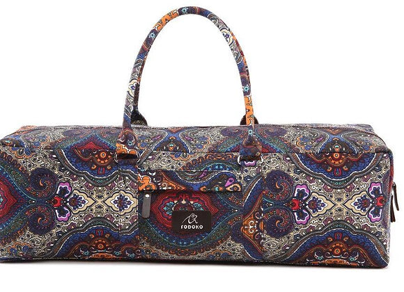 Paisley Patterned Yoga Mat Bag