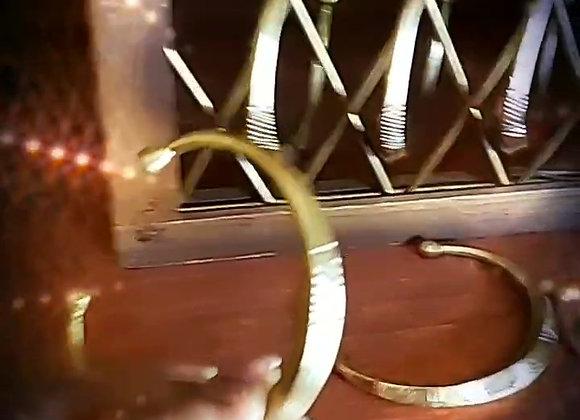 Cast Brass Cuff