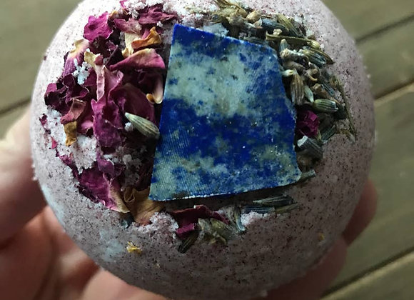 Crystal + 50mg CBD Infused Bathbombs