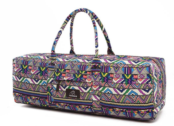 Multi-Colored Aztec Yoga Mat Bag