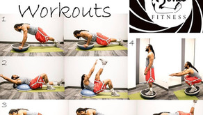 Bosu Ball Workouts for a Challenge