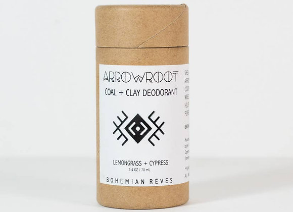 Arrowroot Coal + Clay Deodorant