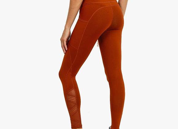 Solid Burnt Orange Leggings