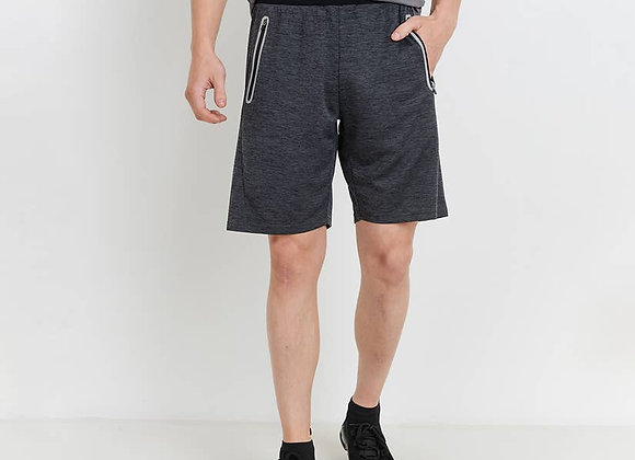 MEN - Athleisure Shorts with Zippered Pockets