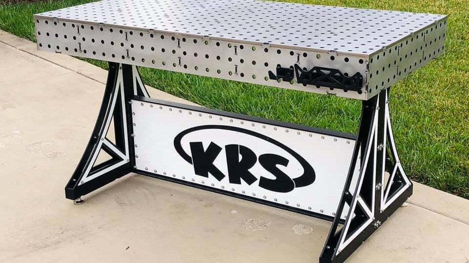 30x60 Welding FAB Table (Assembled)