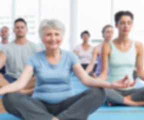 Classe Yoga para todas as idades
