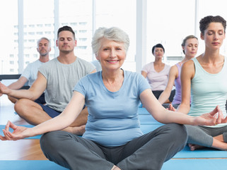 New Gentle Yoga Class  Monday 17th May 10.45 am
