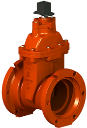 UL/FM NRS Gate Valves,Ductile Iron, Fire Protection Valves