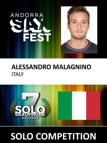 ALESSANDRO MALAGNINO