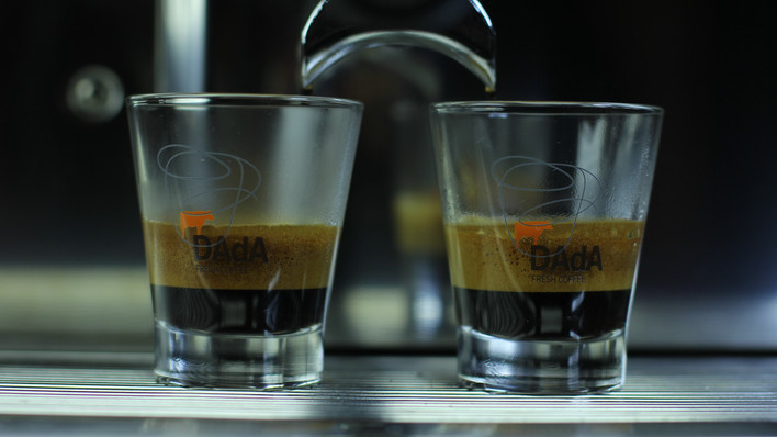 Expo Coffee Espresso Machine Campaign