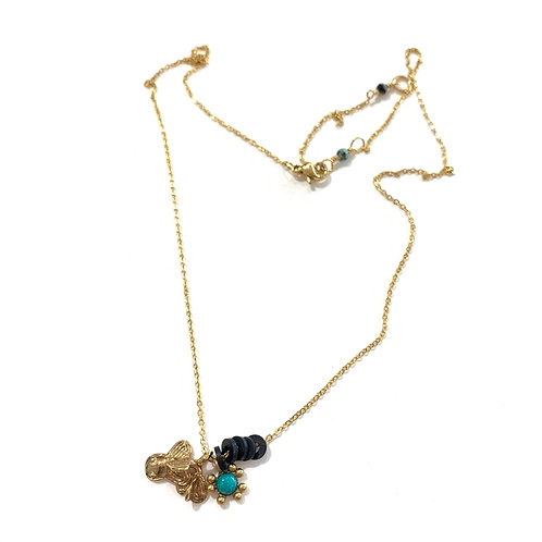 Collier pampilles grigris