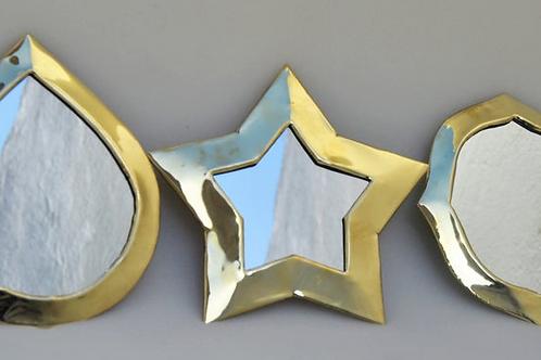 Miroir étoile/quatrecoins/goutte
