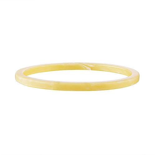 Bracelet jaune pâle
