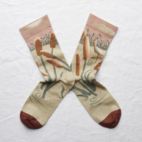 Chaussettes ibis nude