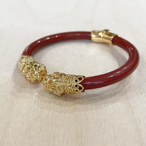 Bracelet Aya dragon brique