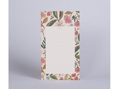 Bloc notes herbier