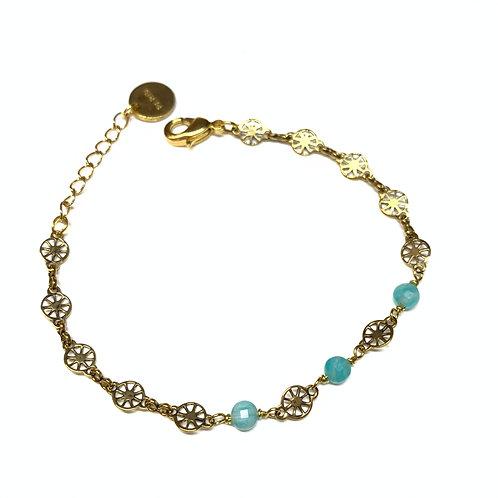 Bracelet Joséphine amazonite
