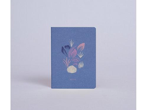 Carnet de poche coquillages