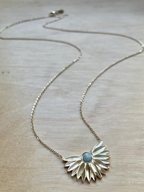 Collier fleur amazonite