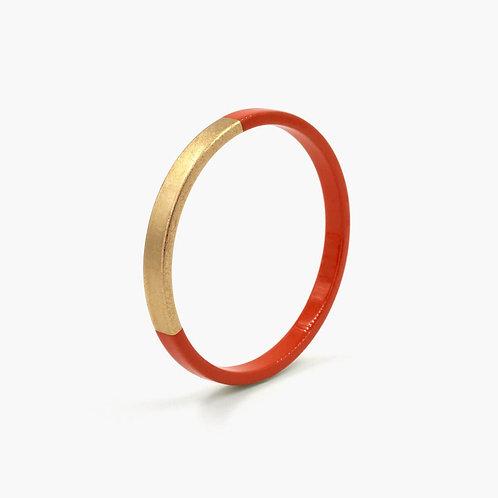 Bracelet Trinity rond tomette