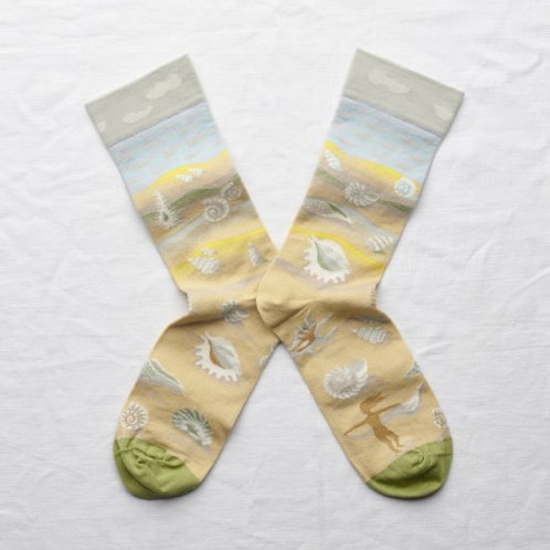 Chaussettes coquillages multico