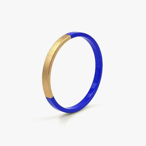 Bracelet Trinity rond cobalt