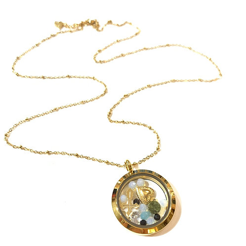 Sautoir amulette