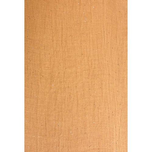 Foulard pailleté jaune foncé