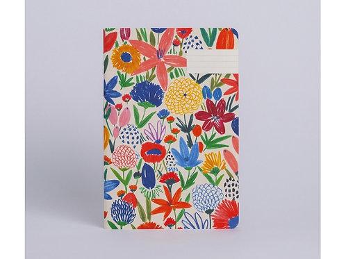Cahier fleurs sauvages