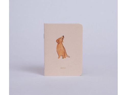 Carnet de poche teckel