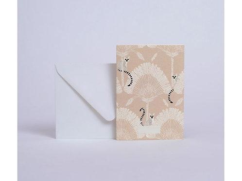 Carte lémuriens
