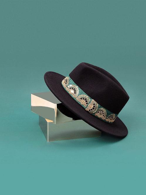Chapeau Jim noir