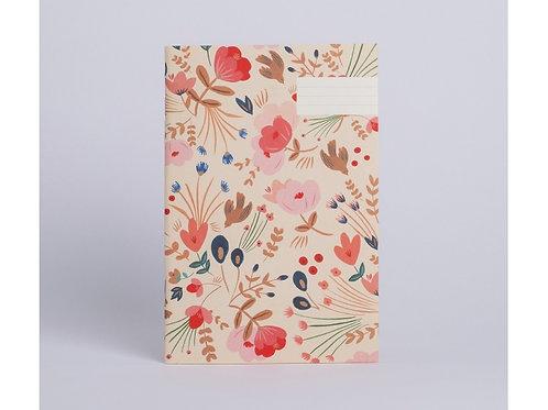 Cahier fleurs folk