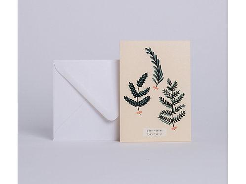 Carte herbier