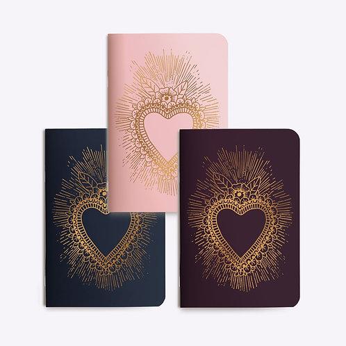 Mini carnet coeur