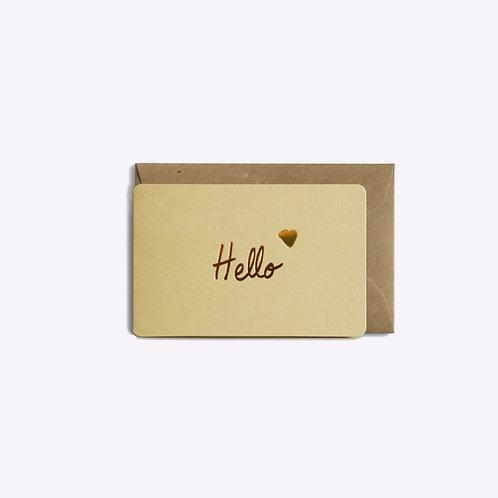 Mini carte hello