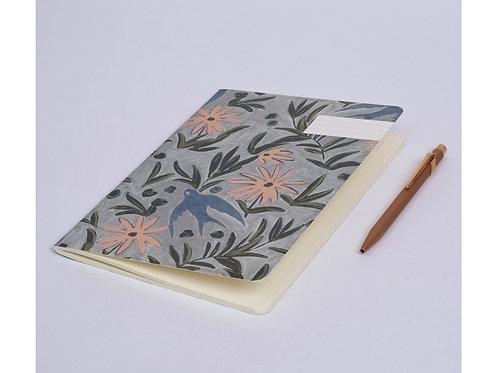 Cahier envolée brume