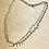 Thumbnail: Collier lamelles et pierres