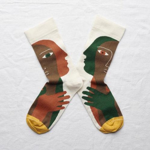 Chaussettes tête naturel