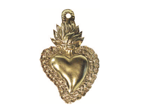 Coeur ardent gold