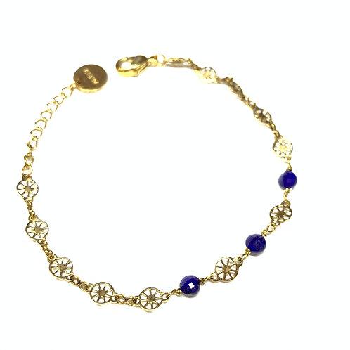 Bracelet Joséphine lapis
