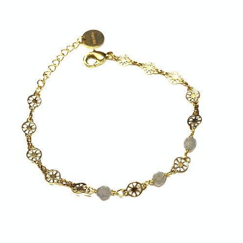 Bracelet Joséphine labradorite