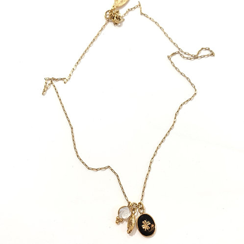 Collier pampilles Sacha