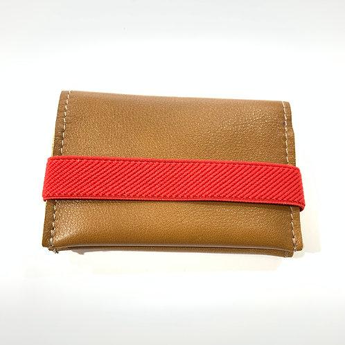 Porte cartes brun