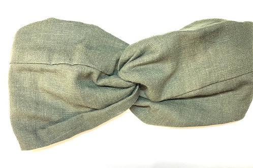 Headband lin kaki