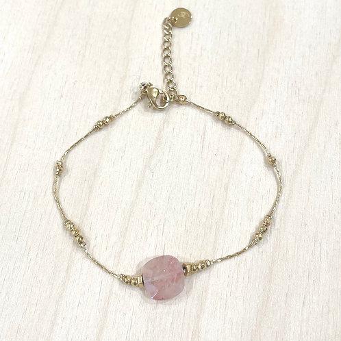 Bracelet pierre carrée